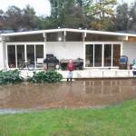 2005 New Years Eve Flood, backyard