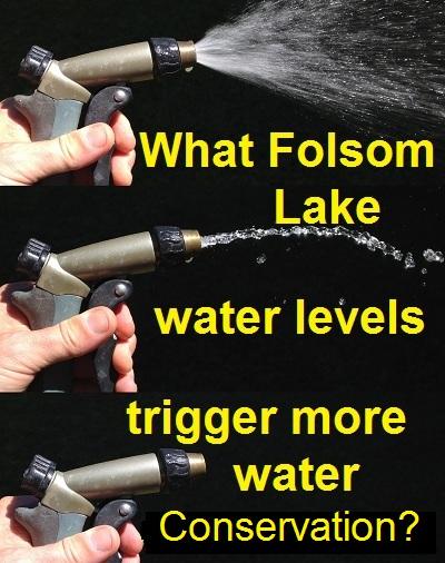 Should Folsom Lake water levels trigger mandatory water conservation?
