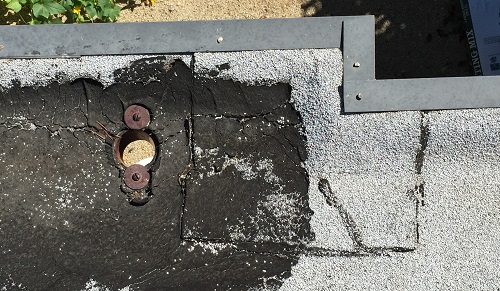 A new flat roof for an old mid century modern house for Rainwater drain problems