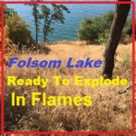 Folsom Lake, Park, Fire, Brush, Trees, Granite Bay, El Dorado Hills