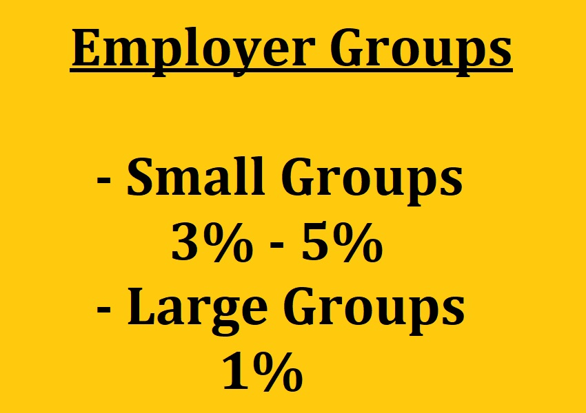 California agents earn 3% to 5% commission on small employer group enrollments.